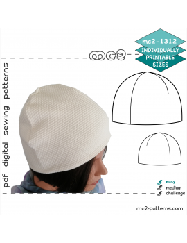 Slick-look Beanie Hat