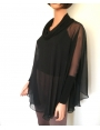 mc2-5007 Poncho with Cowl-neck & High Cuffs