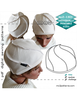 mc2-1301 Spiral Design Hat