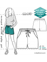 Shorts/ Hot-Pants with Elasticated Waistband & Side Pockets