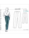Classic Highwaisted Trousers with Built-on-Waistband